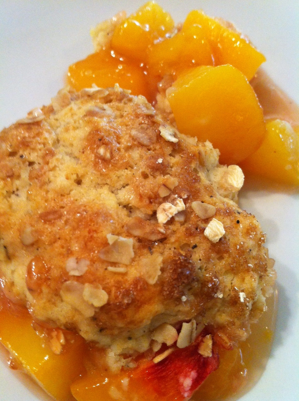 Published May 14 at 968 × 1296 in Episode 4: Lavender-Peach Cobbler