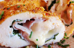 Ham Cheese Stuffed Chick